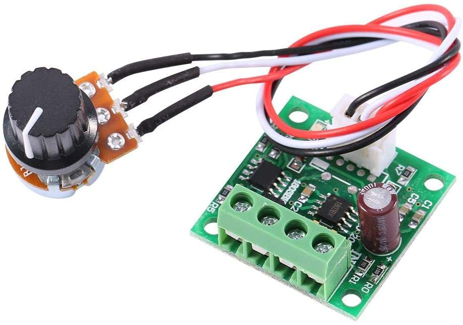 DC 1.8V to 15V 2A Mini Low Voltage PWM Motor Speed Controller Control Module
