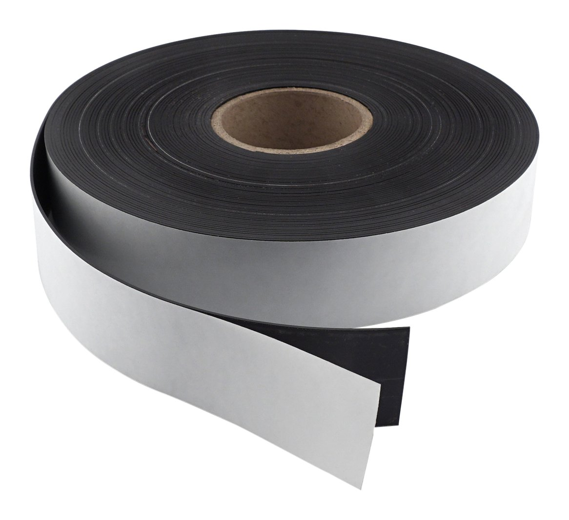 Master Magnetics Flexible Magnet Strip with Adhesive Back , 1/16