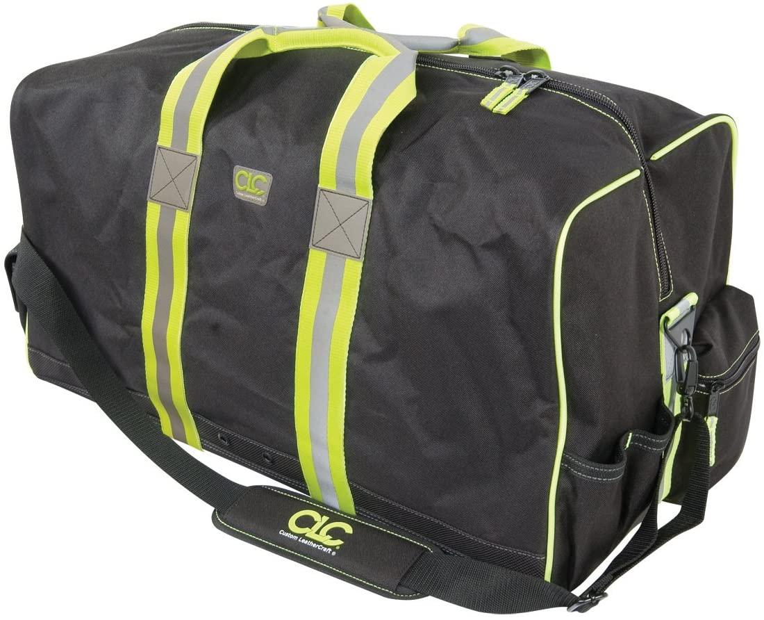 CLC Hi-Viz Gear 141111 24-Inch All Purpose Hi-Viz Gear Bag