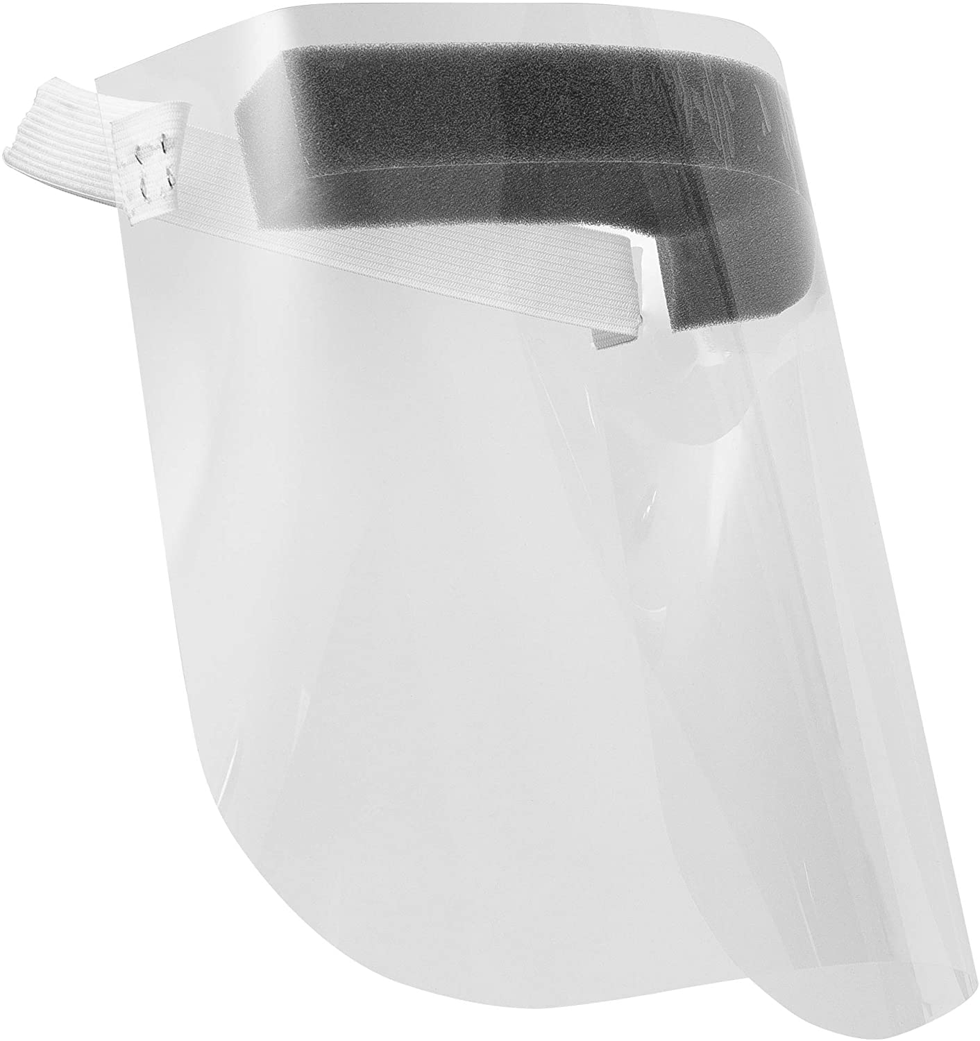 Face Shield with Latex Headband (Pack of 10)