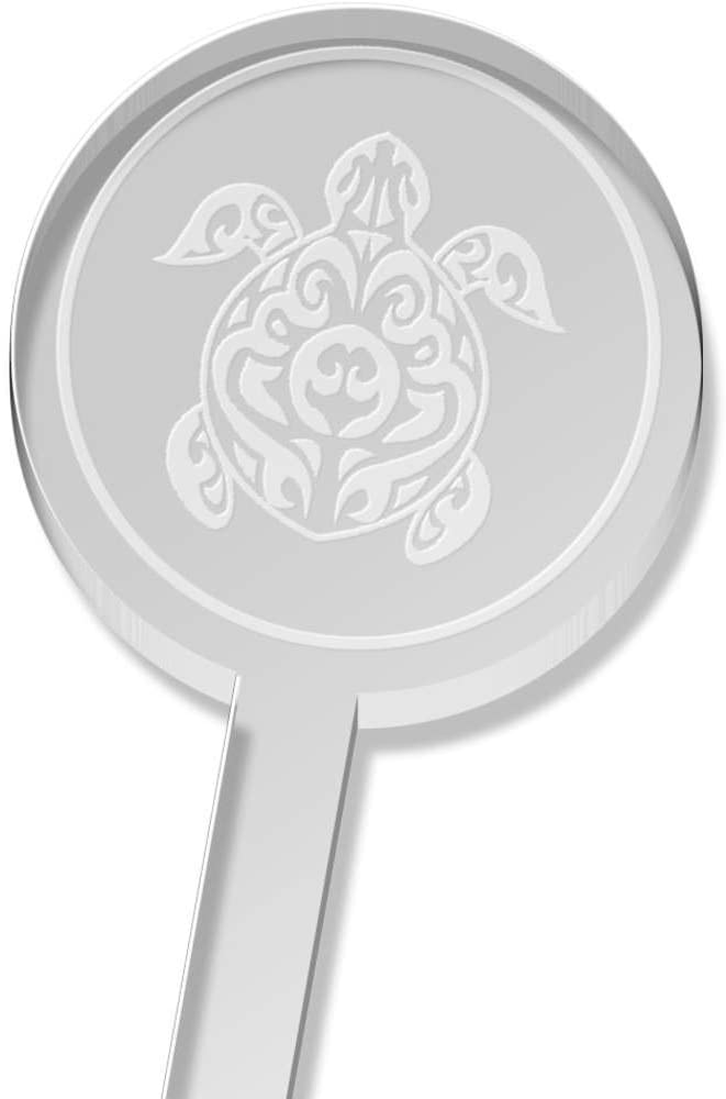 Azeeda 5 x 'Turtle' Tall Drink Stirrers / Swizzle Sticks (DS00010403)