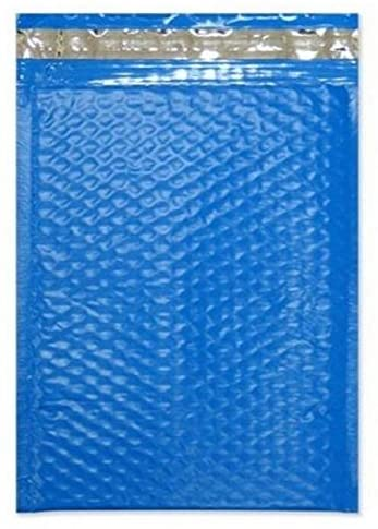 500#0 6x10 Poly (Blue) Color Bubble Padded Mailers