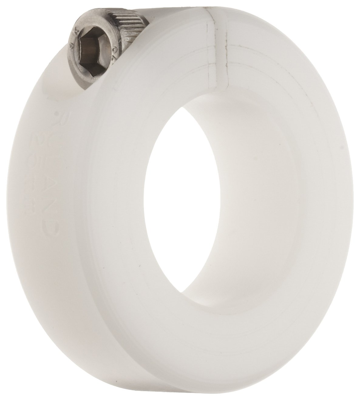 Ruland MCL-6-P One-Piece Clamping Shaft Collar, Plastic, Metric, 6mm Bore, 16mm OD, 9mm Width