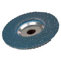 Weiler 804-50604 Tiger Premium Type 29 Angled Flap Disc, Zirconia Alumina, 60 Grit, 7/8