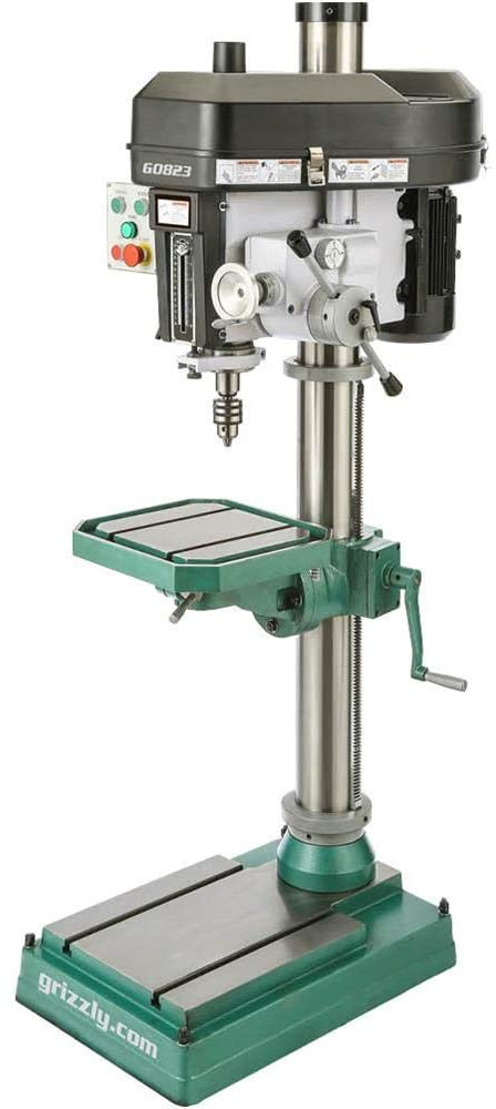 Grizzly Industrial G0823-15 Drill Press with Auto Downfeed