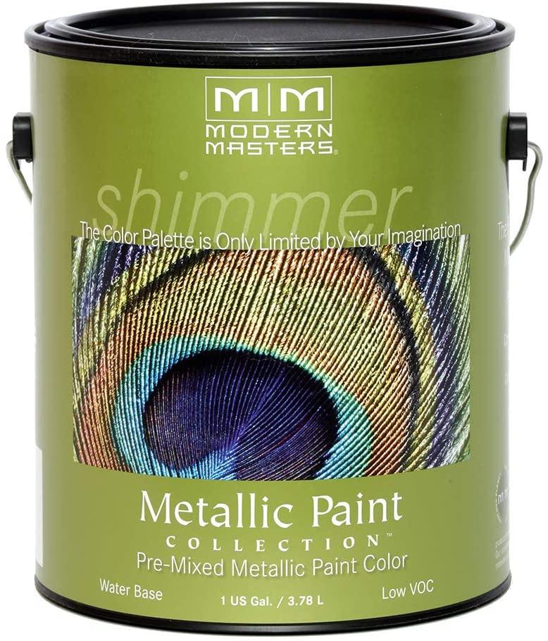 MODERN MASTERS ME243-GAL Metallic Paint, Smoke
