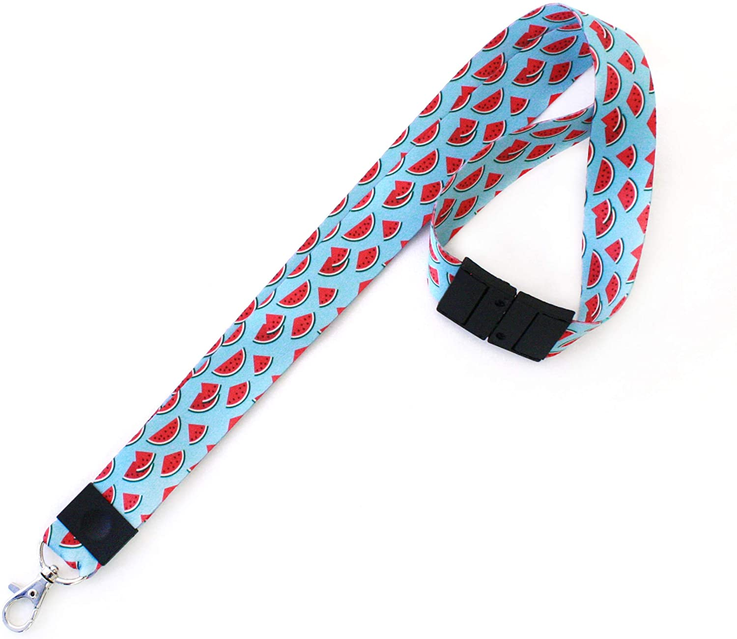 idshop Lanyard for Men and Women-Hold Your Keys and Badges with Style- Soft Fabric