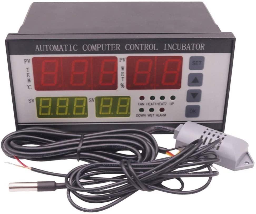 MXBAOHENG Incubator Parts Automatic Digital Temperature Controller for Incubator AC 160V~240V 50HZ or 110V 60Hz (220V)