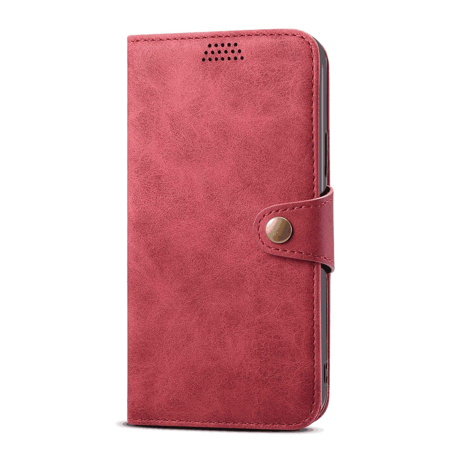 Leather Flip Case Fit for iPhone 11 Pro, red Wallet Cover for iPhone 11 Pro