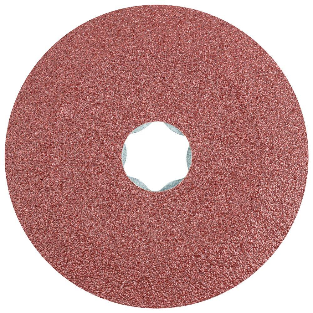 PFERD 40087 Combiclick Fibre Disc, Aluminum Oxide A Type, 4