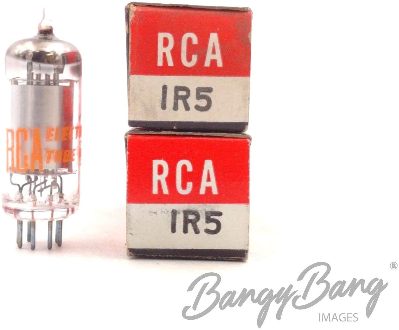 2 Vintage RCA 1R5 Pentagrid Converter Heptode Frequency Valve- BangyBang Tubes