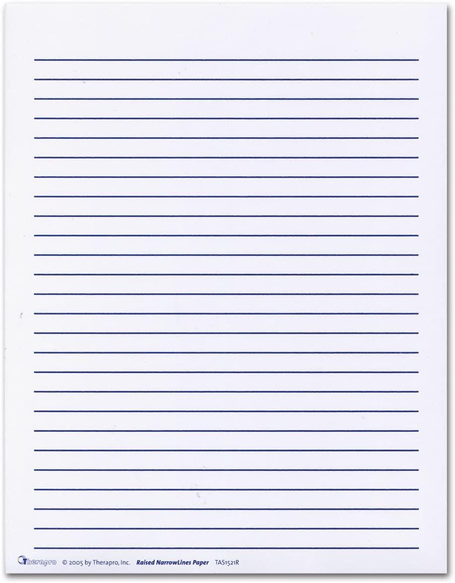 Raised Lines Paper - Narrow