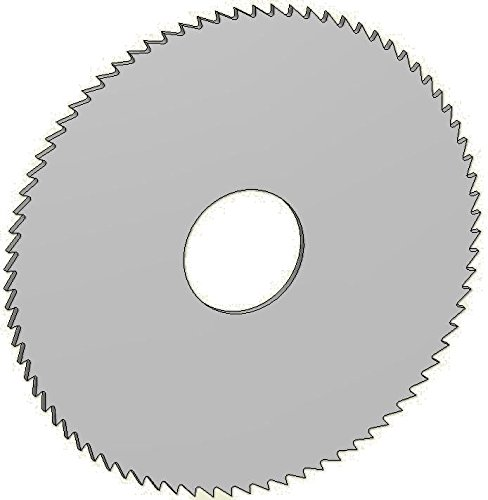 Controx-Neuhaeuser 240477 Slitting Saw High Speed Steel/-Co, Article Number 12601010790001, Tooth Form B, 4
