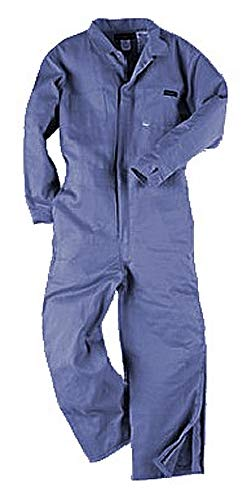 Neese Industries 9 oz. Insulated 100% Fire Resistant Cotton Coverall, Indura, 2XL, Navy Blue