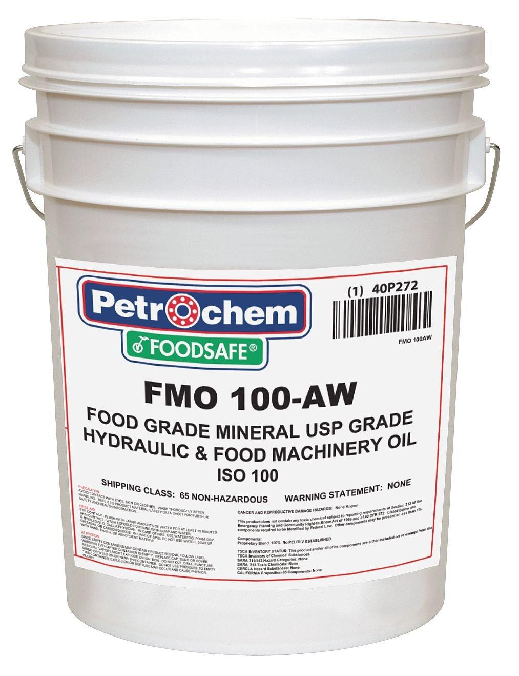 Mineral Hydraulic Oil Food Grade 5 gal.