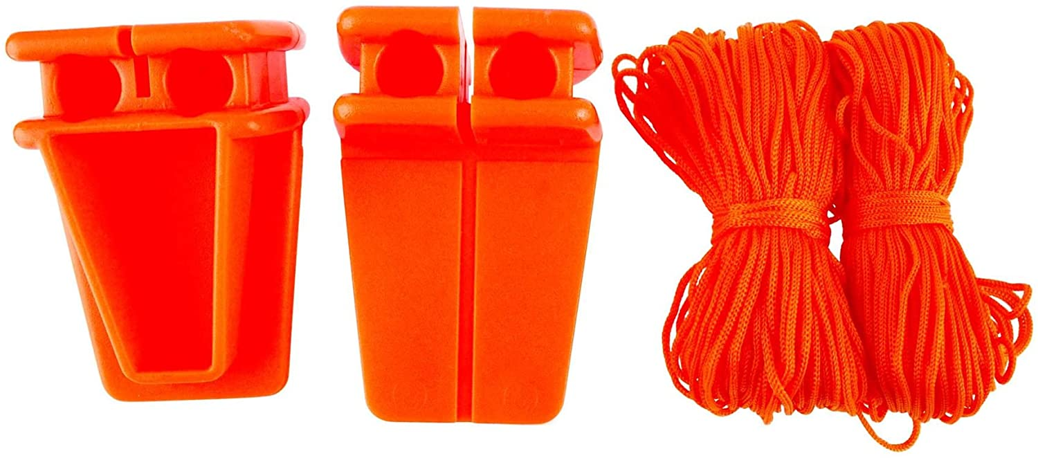 18M Line with L Shape Plastic Block Builders Brick Laying Bricklayer TE091 by A B Tools