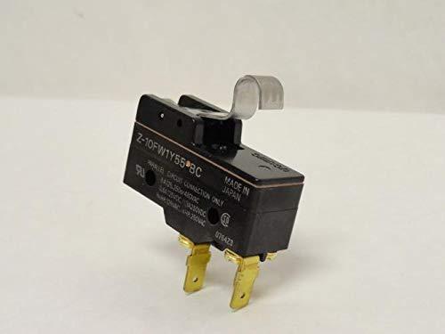 Omron Z-10FW1Y55-BC Basic Snap Switch, 6A, 125/250/480VAC