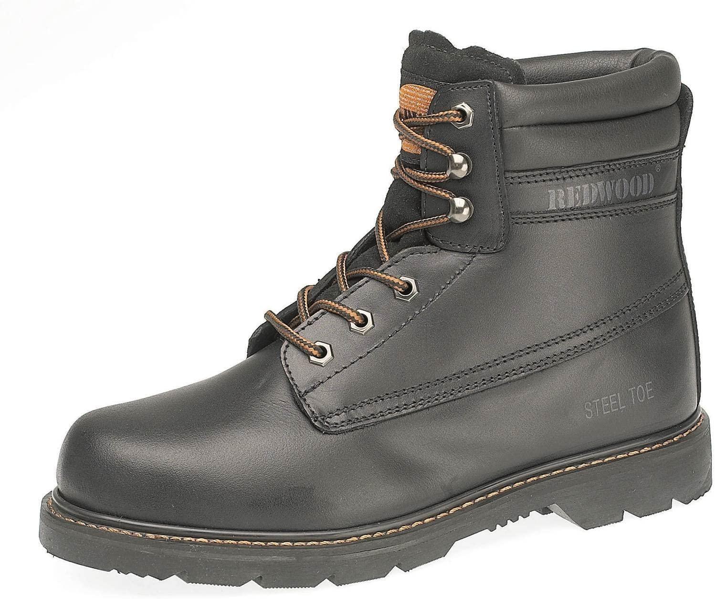 Deltaplus Men's LH640SM Safety Work Boot US Size 11 Black