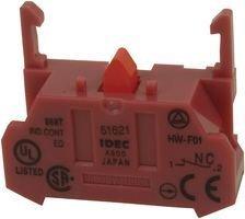 IDEC HW-F01 CONTACT BLOCK, 1NC, 10A, SCREW (5 pieces)