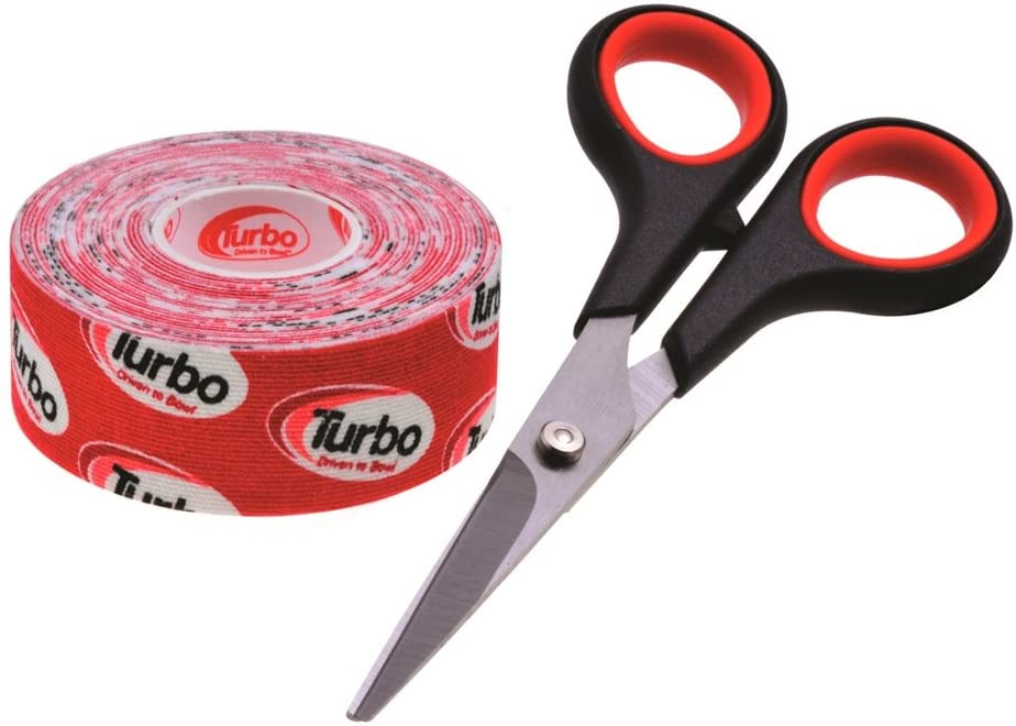 Turbo Driven to Bowl 1 Inch Roll Fitting Tape- Red