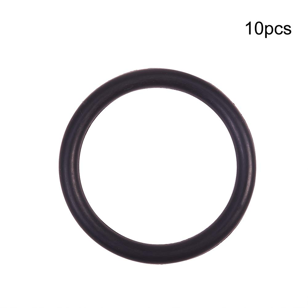 Othmro O-Rings Nitrile Rubber, 31mm Inner Diameter, 35mm OD, 2mm Width, Round Seal Gasket(Pack of 50)