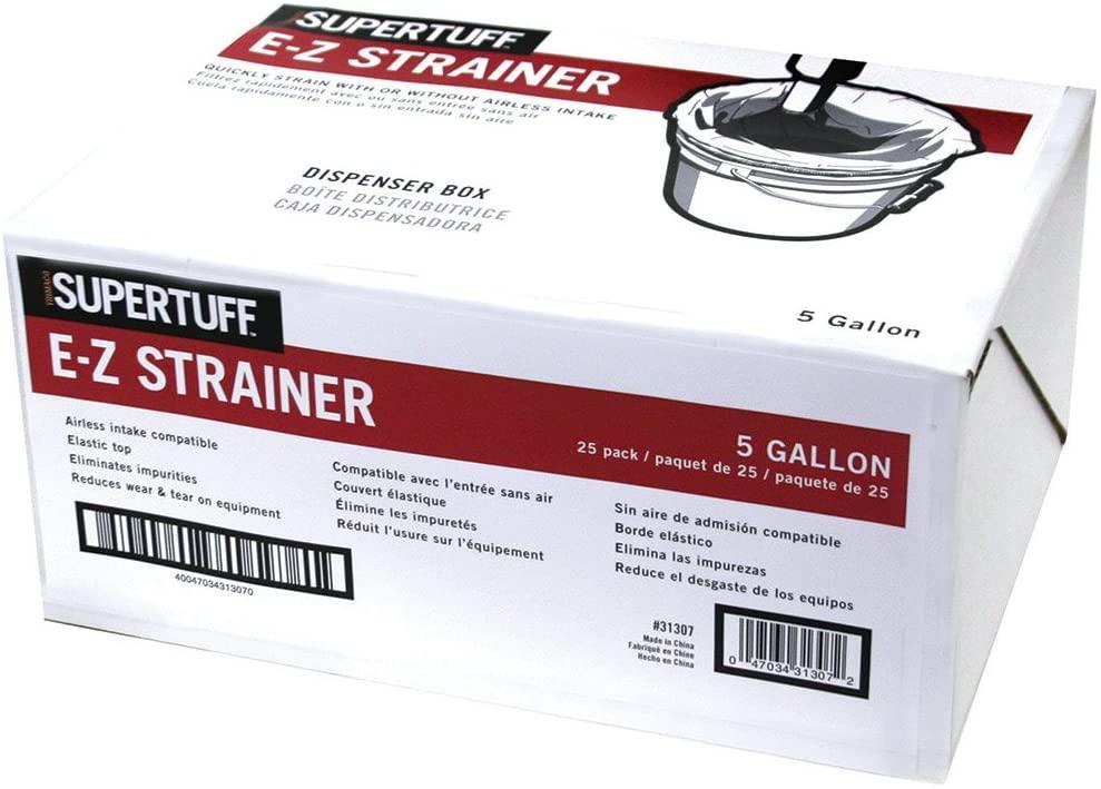 Trimaco SuperTuff E-Z Strainer, 5 gallon, 25 pack