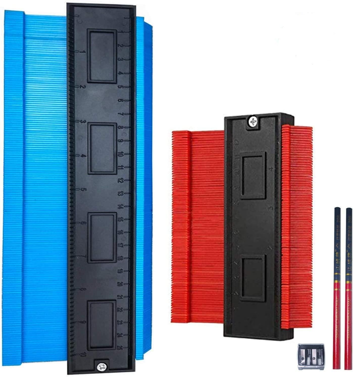 Master Outline Gauge Duplicator - Selkie 5pcs Contour Gauge Tool Kits, 5