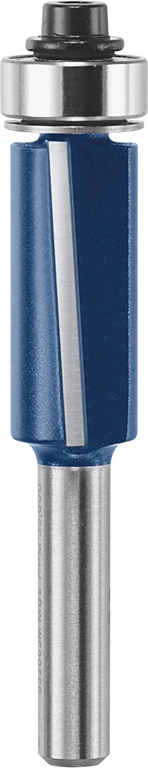 Bosch 85266SM 1/2 In. x 1 In. Carbide Tipped 2-Flute Shear Trim Bit
