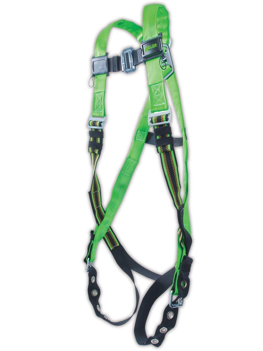 Miller DuraFlex Python Pass Through Full Body Harness with D-Ring