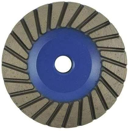 Segment Cup Wheel, 5 in.Dia, Medium Grit