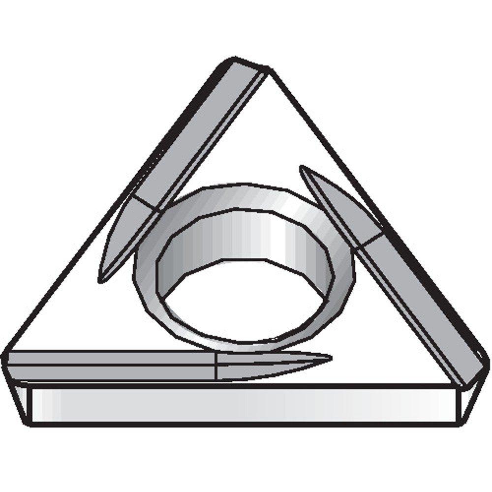 WIDIA Circle TDHH130805L TN7 Small Hole Boring Positive Inserts TDHH, Cermet, 0.007