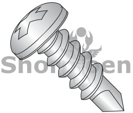 10-16X3/8 Phillips Pan Full Thread Self Drilling Screw 18-8 Stainless Steel - Box Quantity 9000 by Shorpioen BC-1006KPP188