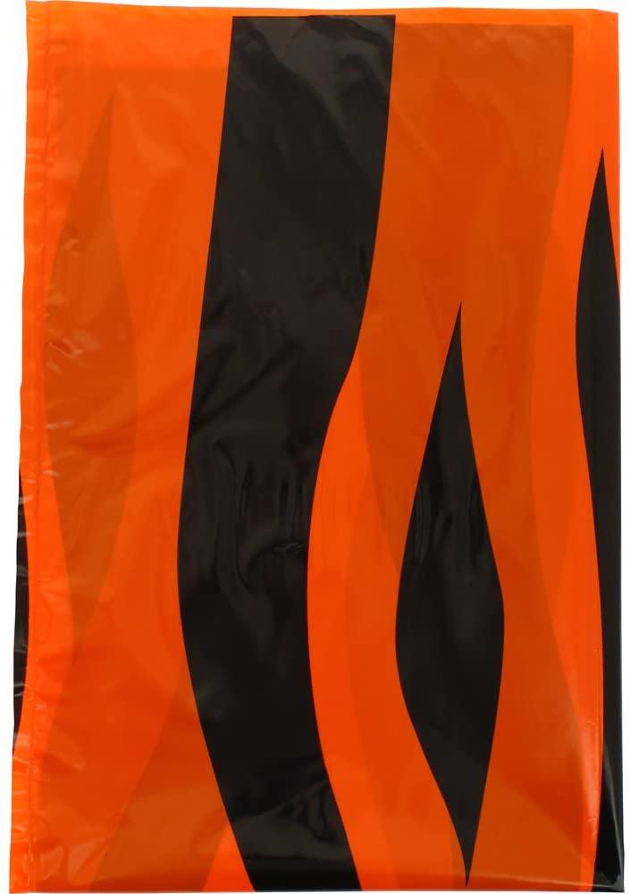 Fixo 72306–Pack of 25Bags Costume, 56x 70cm, Black/Orange