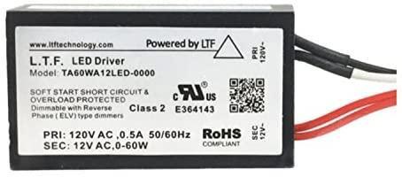 EmeryAllen 12v AC Class 2 Electronic Remote LED Transformer by LTF