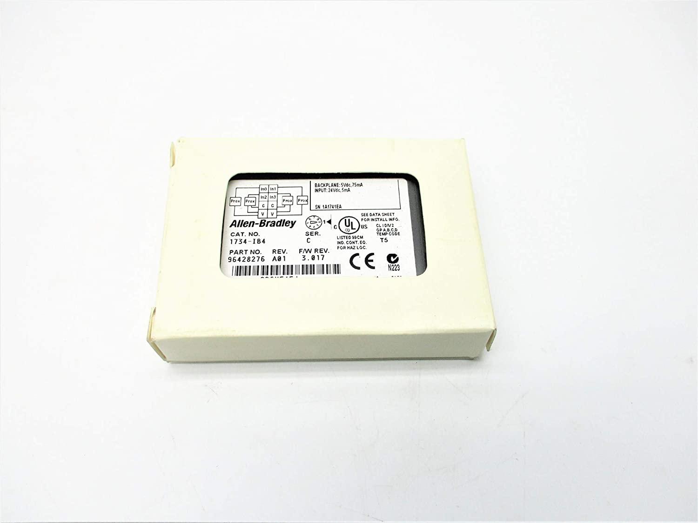 Allen Bradley 1734-IB4 SER. C F/W 3.017 (WH) NSMP