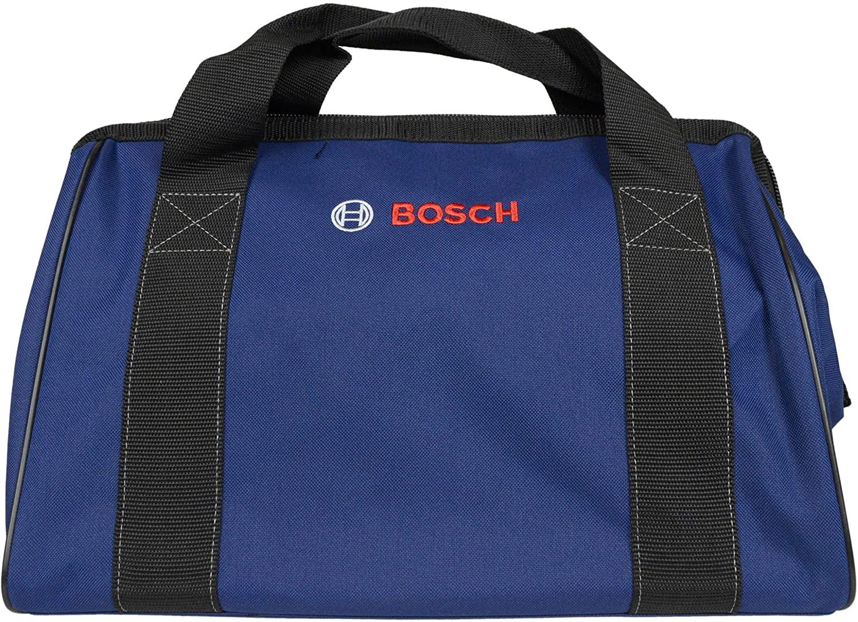 Bosch 16x9x11 Dark Blue Canvas Contractor Construction Tool Bag