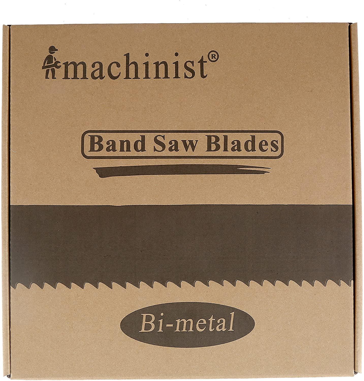 Imachinist S106341014 M42 Bi-metal Band Saw Blades 106
