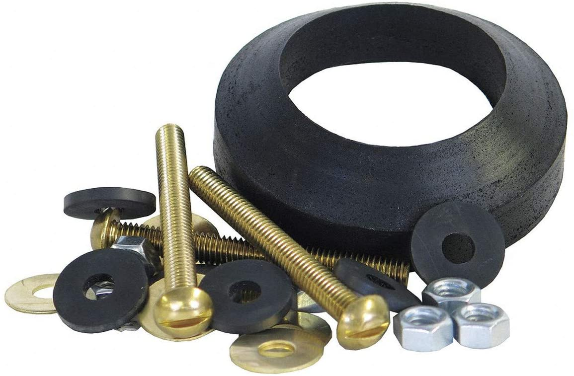 Brass and Rubber Tank to Bowl Kit, For Use With American Standard- Pack of 5