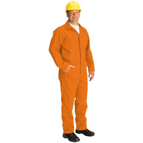 TOPPS SAFETY CO07-5540-Tall/46 CO07-5540 NOMEX Coverall, 4.5 oz, Tall/Size 46, 5'-11 1/2