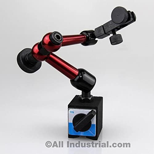 3D Mini Magnetic Base Holder 50 lbs. Pull 9 Reach for Dial & Test Indicators