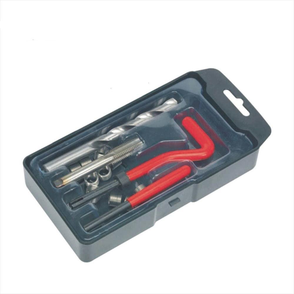 Engine Care 25 Piece Thread Repair Engine Tap Drill Kit M8 X 1.25 Inserts