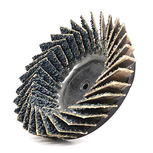 Superior Abrasives 37866 SHUR-KUT 2in Type R Zirconia Quick Change Mini Flex Disc, 40 Grit (Pack of 10)