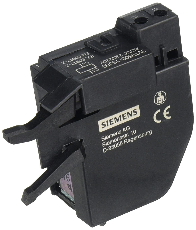 FURNAS ELECTRIC CO 3VT9-500-1SJ00 for AC 230V/DC, SHUNT Release, for Installation Left
