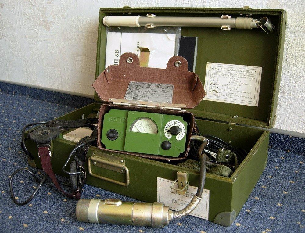 Made In USSR Dosimeter DP-5V Soviet army rentgenmetr Dose rate meters. Full working Full kit. Brand NEW