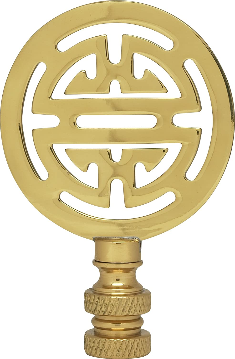 Satco Oriental Brass Finial model number 90-1747-SAT