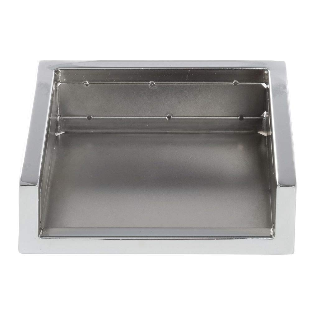 HUBERT Cerve Collection Chrome Napkin Holder - 6 3/5