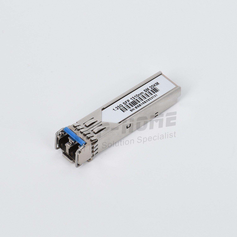 Arista Networks SFP-1G-LX-20 Compatible 1000BASE-LX/LH SFP 1310nm Singlemode Fiber Duplex LC 20km DDMI Transceiver