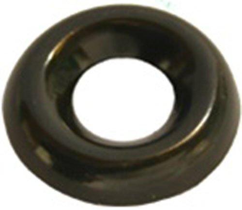 100#10 Countersunk Washers Black Zinc Plated Brass