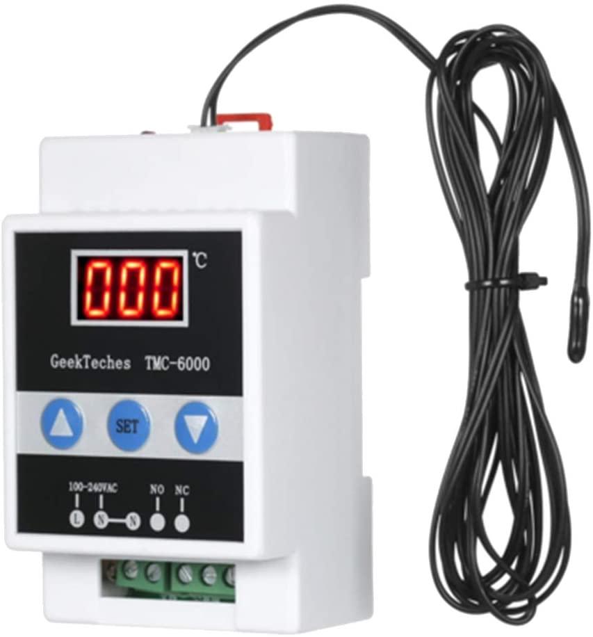 Bonarty TMC-6000 Guide Rail Thermoregulator Digital - Style1