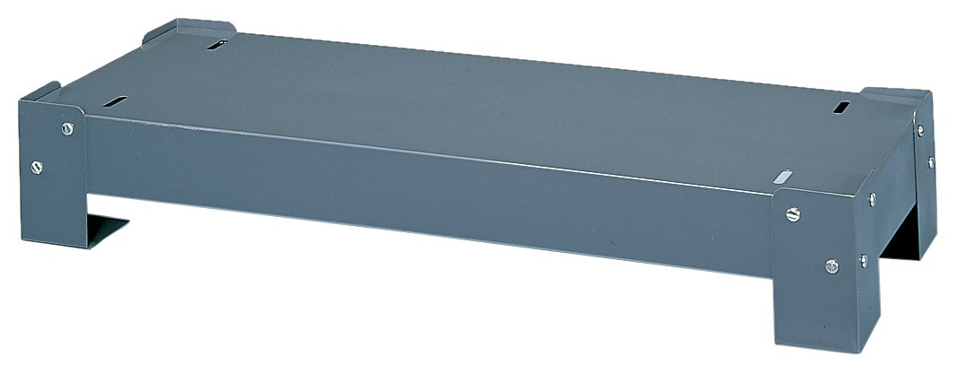 Durham 362-95 Gray Cold Rolled Steel Base for 17-1/4 Deep Drawer Cabinets, 34-1/8 Width x 5-3/4 Height x 17-1/4 Depth